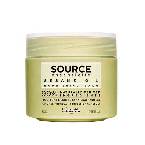 Маска Source Essentielle Sesame Oil Nourishing Balm, 300мл фото