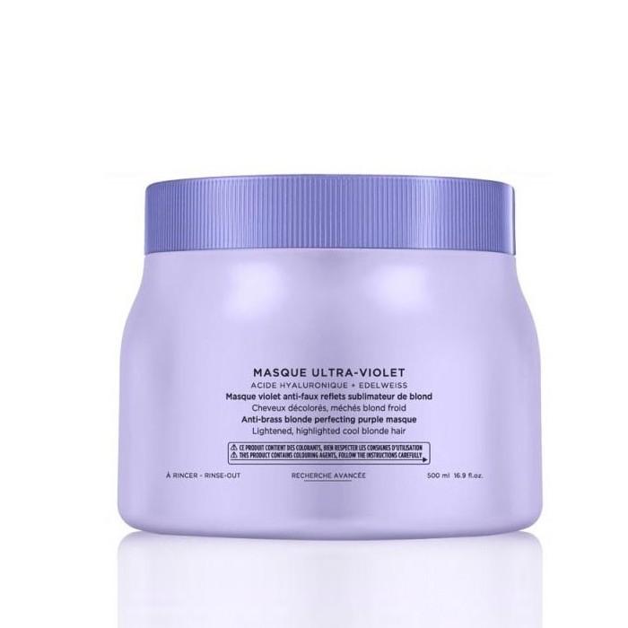 Маска Blond Absolu Ultra-Violet - 500мл фото