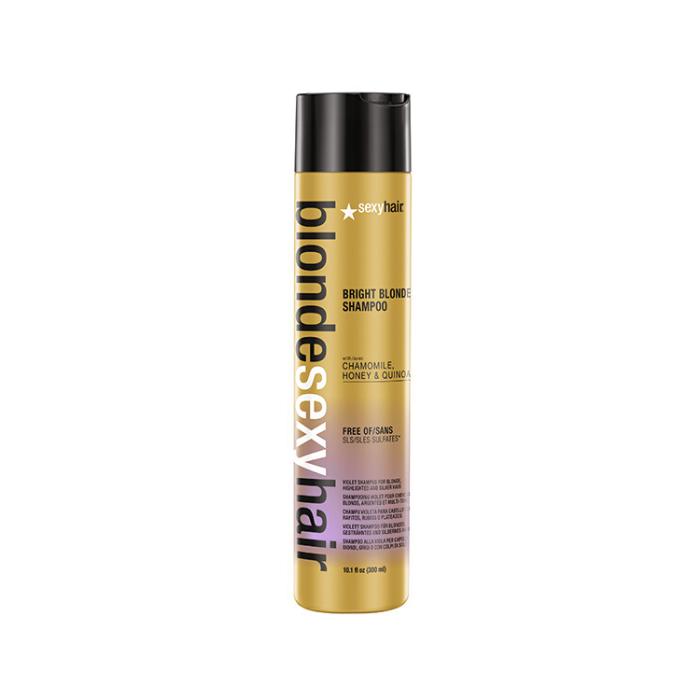Купить Шампунь корректирующий для блонда Bright Blonde Shampoo - 300мл, Sexy Hair (shop: Cosmall )