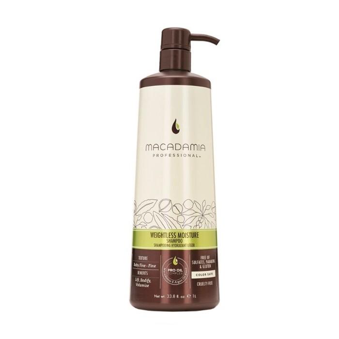 Шампунь Weightless Moisture Shampoo увлажняющий - 1000мл фото