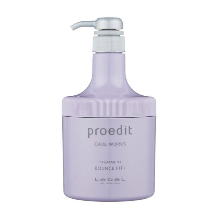 Купить Маска Lebel Proedit Hair Treatment Bounce Fit+ восстанавливающая - 600мл (shop: Cosmall )
