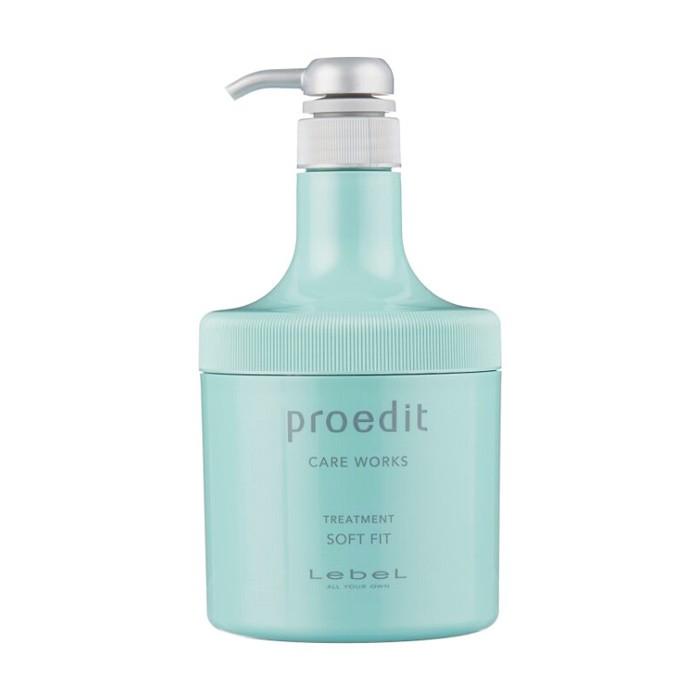 Маска Lebel Proedit Hair Treatment Soft Fit для сухих волос - 600мл фото