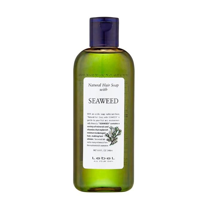 Шампунь LebeL Natural Hair Soap with Seaweed - 240мл фото