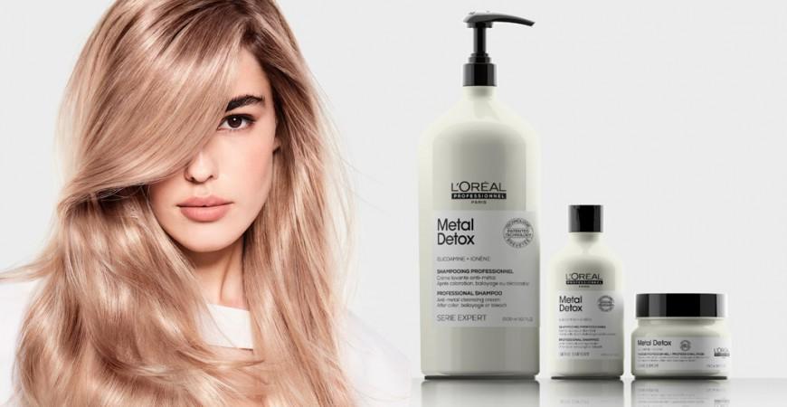 Metal Detox инновация для окрашенных волос
